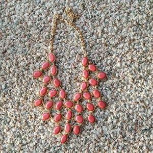 Mauve necklace